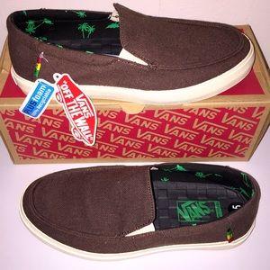 ebc5d302b506 Vans Shoes - NWT Vans Men s Slip On Bali SF Hemp Dark Brown